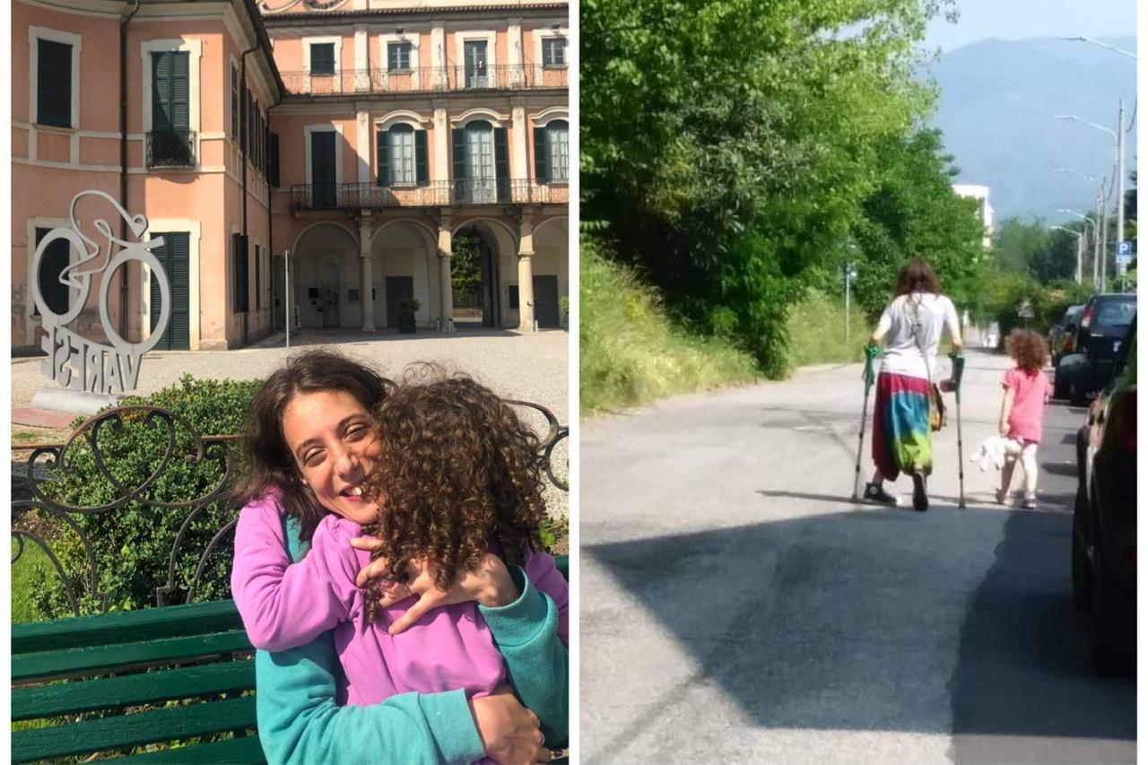 Le conquiste di una mamma con paralisi cerebrale infantile: 1000 passi insieme, io e te. - Featured image